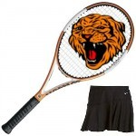 fhs girls tennis logo Lady Tigers win final Dual