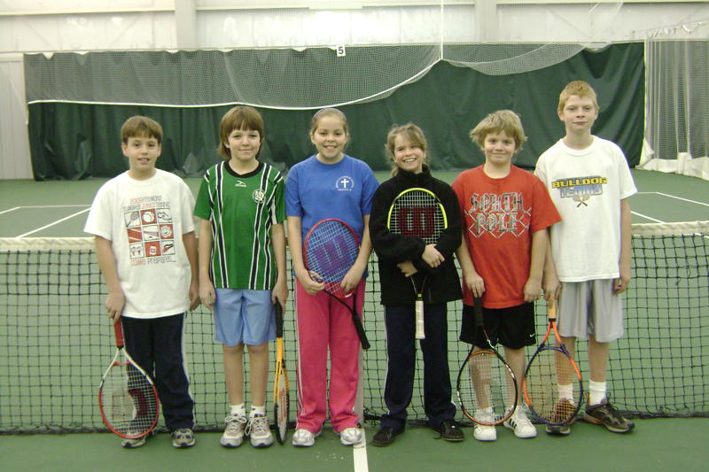 December 2009 004 15 Youth Participate In 1st Annual QuickStart Tennis Tournament