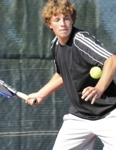Dean Jacobs 101 232x300 Fremont Boys Tennis Team drops two at home triangular
