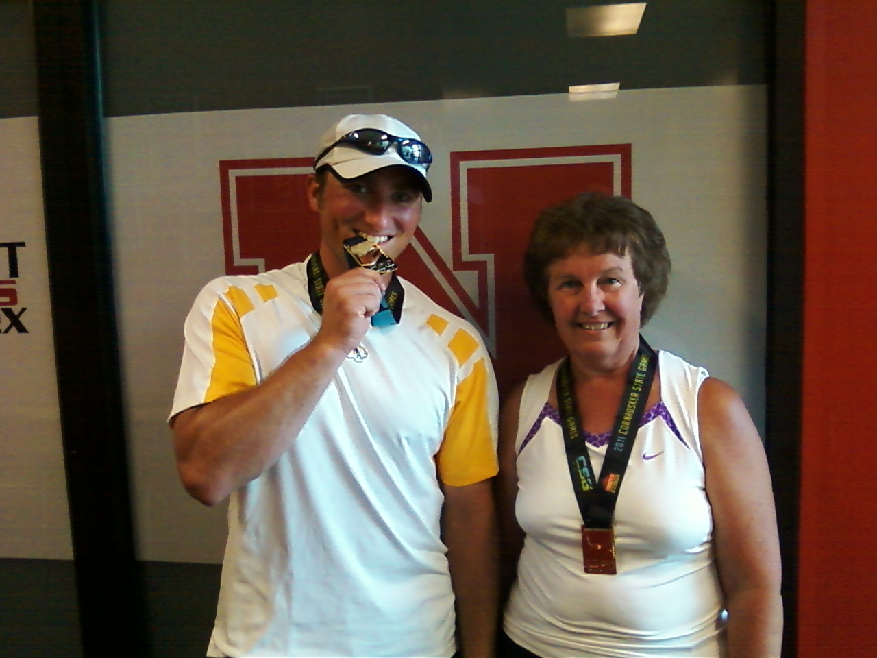 CSG Champs 2 Mark & Rohloff   Gold Medalists at 2011 Cornhusker State Games