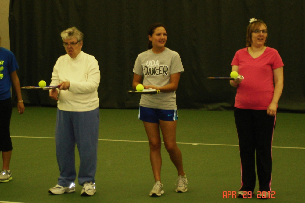 Special Olympics 2 Fremont Special Olympics Tennis Program